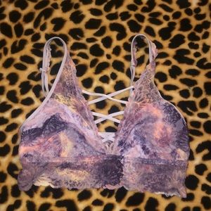 Bralette size small VS Pink
